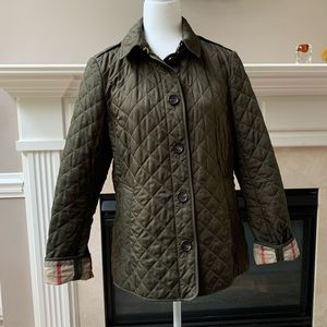 Burberry Brit Classic Quilted Jacket